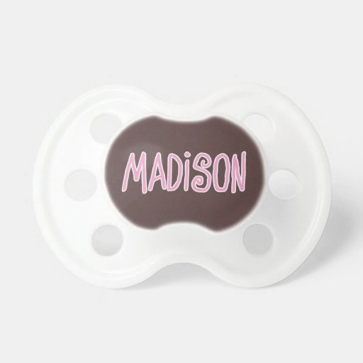 Rosa conocido de Madison y pacificador del bebé de Chupete