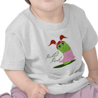 Rosa conservado en vinagre camisetas