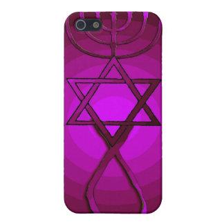 ROSA cristiano judío mesiánico IPhone del ARTE POP iPhone 5 Fundas