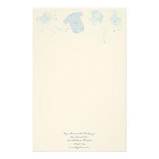 Rosa de Argyle Onsie del traqueteo del corazón del Papeleria De Diseño