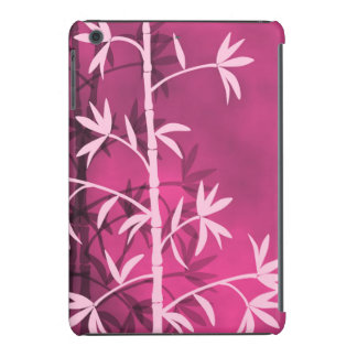 Rosa de bambú rosado funda para iPad mini retina