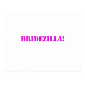 Rosa de Bridezilla Tarjetas Postales