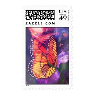 Rosa de Briefmarke ButterflyFlash Envio