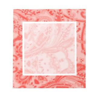Rosa de color salmón Paisley Bloc