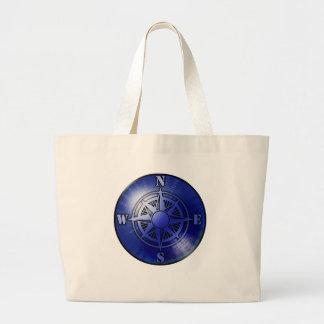 Rosa de compás azul bolsa