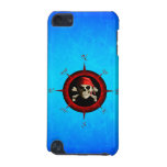 Rosa de compás del pirata funda para iPod touch 5G