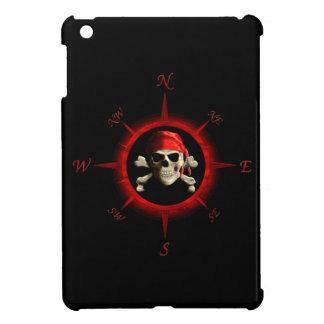 Rosa de compás del pirata iPad mini fundas