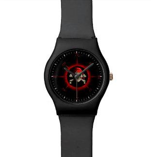 Rosa de compás del pirata reloj de mano