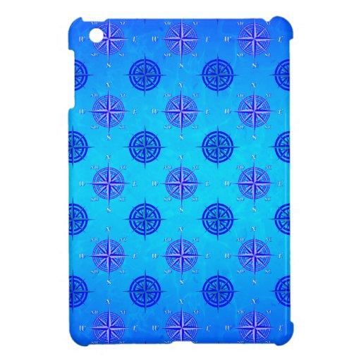 Rosa de compás náutico iPad mini carcasas