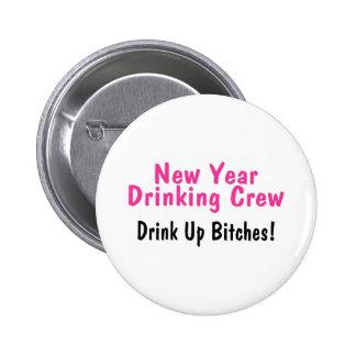 Rosa de consumición del equipo del Año Nuevo Pins