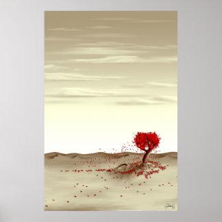 Rosa de desierto impresiones