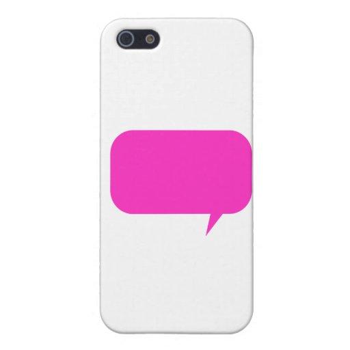 Rosa de encargo de Quotebox iPhone 5 Carcasas