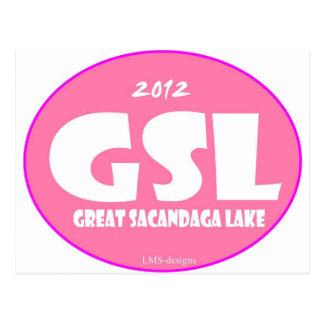 Rosa de GSL Tarjeta Postal