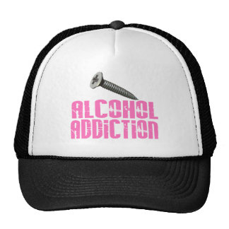 Rosa de la adicción al alcohol del tornillo gorros