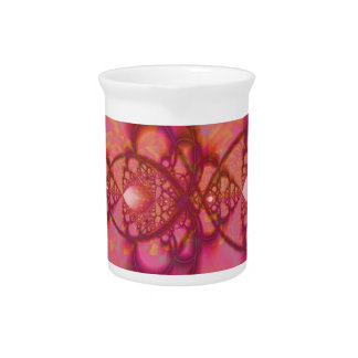 Rosa de la boogie jarra de beber