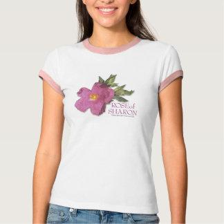 Rosa de la camiseta del campanero de Sharon