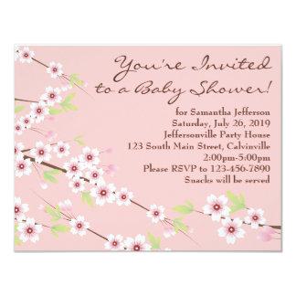 Rosa de la flor de cerezo y fiesta de bienvenida comunicado
