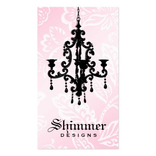 rosa de la lámpara 311-Shimmer Tarjetas De Visita