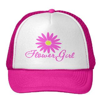 Rosa de la margarita del florista gorras