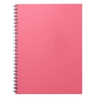 Rosa de la sandía cuaderno