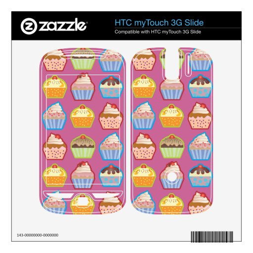Rosa de las magdalenas de Lotsa HTC myTouch 3G Slide Skin