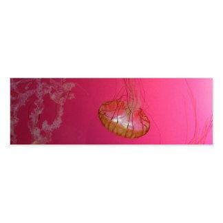 Rosa de las medusas tarjetas de negocios