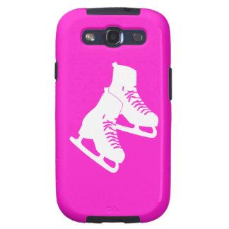Rosa de los patines de hielo de la galaxia S3 Samsung Galaxy S3 Funda