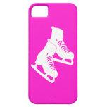 rosa de los patines de hielo del iPhone 5 iPhone 5 Case-Mate Cárcasas