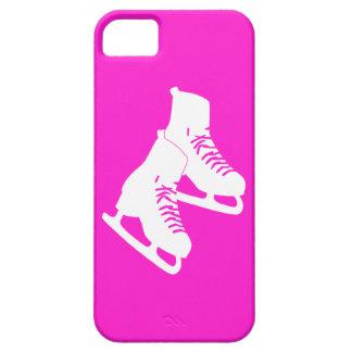 rosa de los patines de hielo del iPhone 5 iPhone 5 Funda