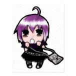 Rosa de Manga Mizuki Postales