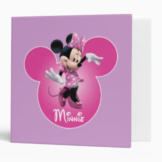 Rosa de Minnie Mouse Carpeta 2""