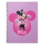 Rosa de Minnie Mouse Cuadernos