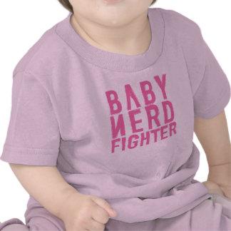 Rosa de Nerdfighter del bebé Camiseta
