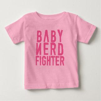 Rosa de Nerdfighter del bebé Playera De Bebé