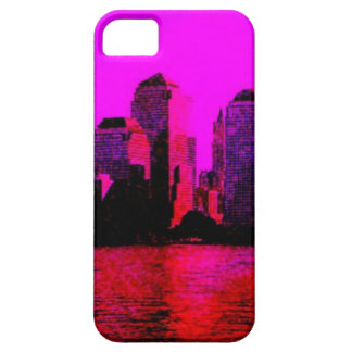 rosa de Nueva York iPhone 5 Cárcasas