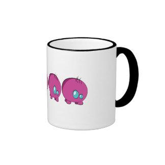 Rosa de Pogo O.o taza del campanero de 325 ml