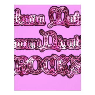 Rosa de rocas de la comunicación Hakuna Matata pn Plantillas De Membrete