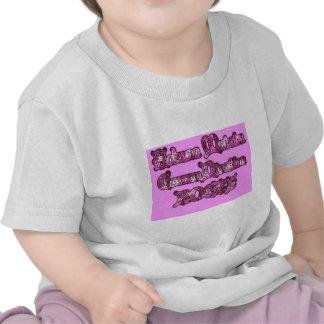Rosa de rocas de la comunicación Hakuna Matata pn Camisetas