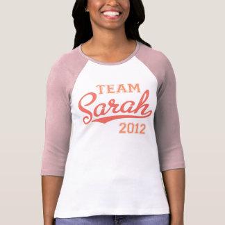 Rosa de Sarah 2012 del equipo Camisetas