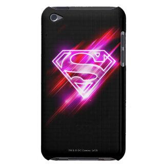 Rosa de Supergirl Barely There iPod Cárcasas