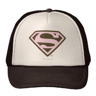 Rosa de Supergirl y logotipo de Brown Gorros