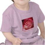 Rosa de té híbrido camiseta