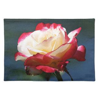 Rosa de té híbrido del placer doble manteles
