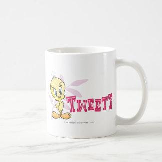 """Rosa de Tweety """"Tweety"""" Taza"""