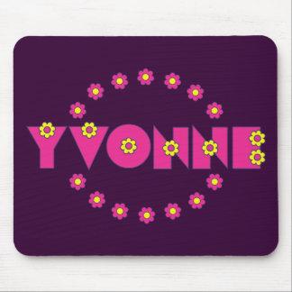 Rosa de Yvonne Flores Tapete De Ratón