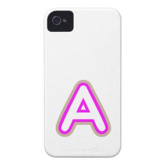 ROSA DEL AAA DE LOS ALFABETOS Case-Mate iPhone 4 PROTECTORES