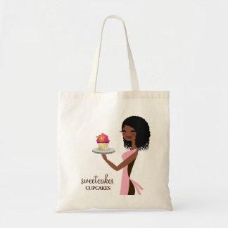 Rosa del afroamericano de Cutie de 311 magdalenas Bolsa