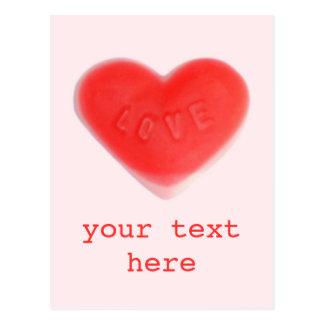 """Rosa del amor postal de """"su texto"""""""
