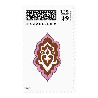 Rosa del Arabesque de la alheña Sello