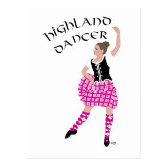 Rosa del bailarín de la montaña tarjetas postales